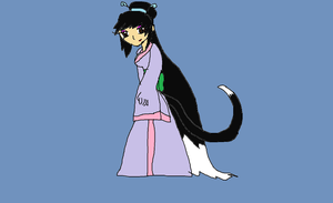 Inuyasha OC Aiko by Liepardmon555