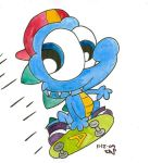 Water coloured dude by JimmyCartoonist