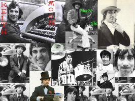 Keith moon collage by TomoeCosmo