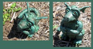 Forest Dragon in Mulch by NycterisA