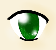 Green Eye - Practice by tintedslightly