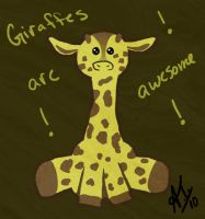 Giraffes are awesome by ClockworkSky