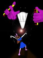 The puppeter behind the darkness by Bioteknos