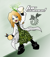For Science by Kida-Ookami