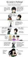 Gai's Challenge by s2wendys2