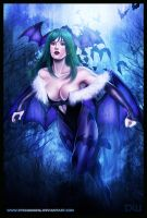 Morrigan Aensland by DyanaWang
