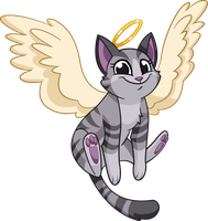 Angel by Tibby-Kitty