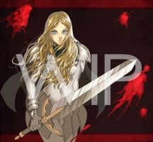 CLAYMORE Teresa Of Faint Smile by ElmerSantos