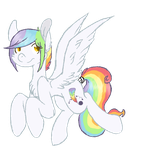 +MLP:DB - Cloud chaser+ by Less-th3n-thre3