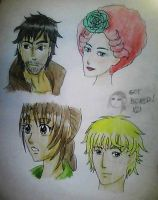 Anime-ted Hunger Games Characters by Fictional-Reality-Me
