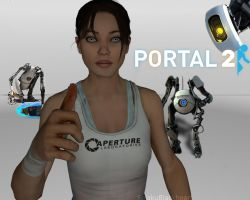 thumbs up to Portal 2 by SeiakuCosplay