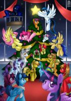 Commission: Christmas Time by SkyHeavens