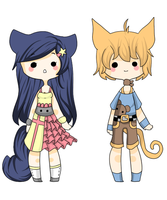 Nekomimi Set {CLOSED} by Abis-Adoptables