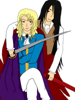 Lestat and Louis of VC by Rupi-chan02