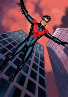 Nightwing Relaunched by Mista-M