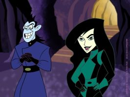 Drakken and Shego by mr35mm