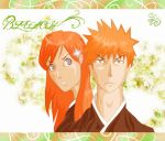Ichigo and Orihime by scissors89