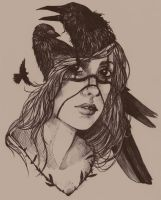 Black Feathers by RaynaCendre