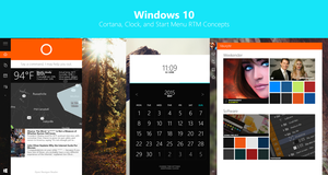Windows 10 - future build concept by SN37