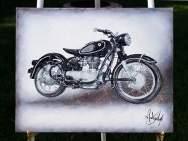 Motorcycle by Malitia