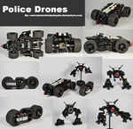 Police Drones by welcometothedarksyde