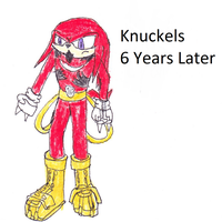 Knuckles 6 Years Later by Falconpawnch7