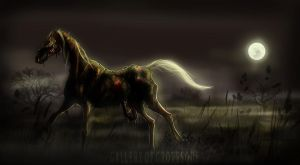 Undead Steed by Gallery-Of-Grotesque