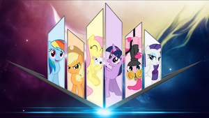 Wallpaper - Prisms by RDbrony16