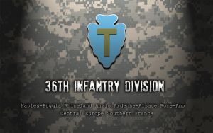 36th Infantry Division by Xtragicfever