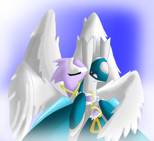 Guardian Angel by Sol-Uxie