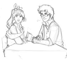 James and Mands by MioneBookworm