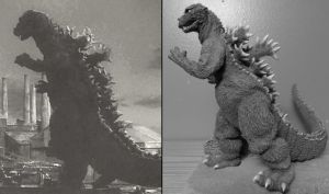 Godzilla 55 Photo Diorama by Legrandzilla