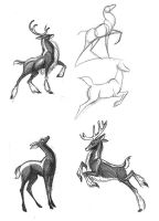 Draw a Deer 1 by Diana-Huang