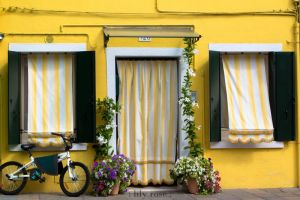 The Yellow House.Burano by L1ly-R0s3