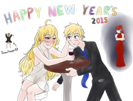Happy New Year! Featuring Tipsy Yang by Madgamer2k7