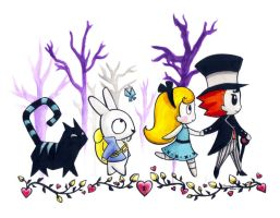 alice in wonderland Ds version by Navajo-girl