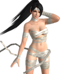 Momiji - The Mummy? (updated) by dnxpunk