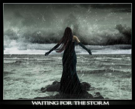 waiting for the storm by ber-S-erk