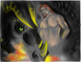 WIP- From the Darkness by FuriarossaAndMimma