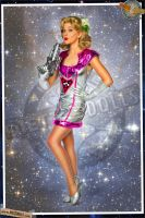 Pinups - Space Girl by warbirdphotographer