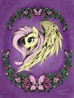 Fluttershy side by AltoHearts
