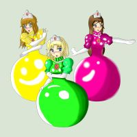 Ball Gown Princesses by ICmyaieye