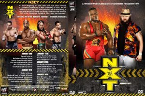 WWE NXT 2013 DVD Spine Set January Cover by Chirantha