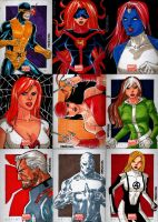 Marvel NOW Sketch Cards Set 4 by wardogs101