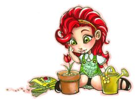 Poison Ivy Beginnings: 001 by erisdoll