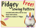Pidgey - Free Sewing Pattern! by Rachaudo