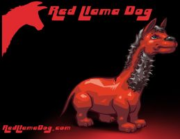 Red Llama Dog -Wallpaper by Tonywash
