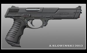 Dimension FMP 18 Pistol by BlackDonner