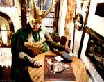 Loki Cosplay - Merry Christmas in a german pub by Mon-Kishu