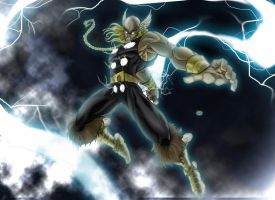 Thor Strikes by LaGolding